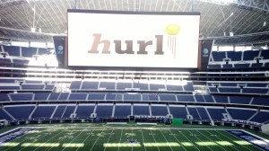 Hurl on the biggest TV screen on earth!
